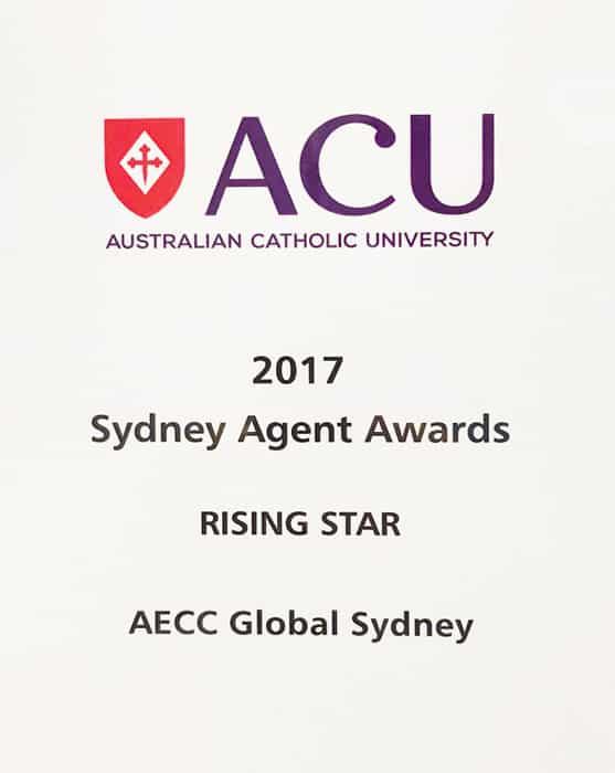 2017 Sydney Agent Awards Rising Star