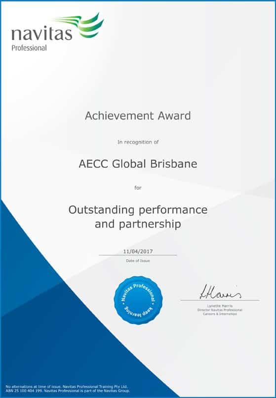Outstanding Performance & Partnership