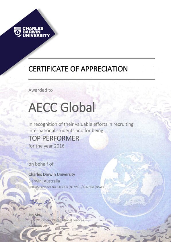 Top Performer for the Year 2016